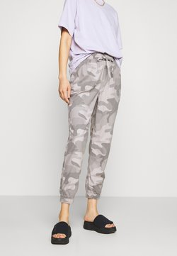 Hollister Co. - DRAPEY - Trousers - grey