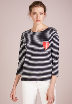 CHINTI & PARKER - HEART POCKET TEE - Langarmshirt - navy