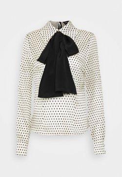 Custommade - GILLA - Bluse - whisper white