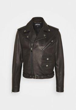 Just Cavalli - KABAN - Leather jacket - black