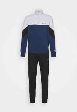 Champion - FULL ZIP SUIT - Trainingsanzug - blue/white
