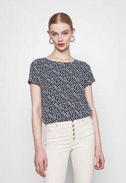 Vero Moda - VMSAGA - T-Shirt print - navy blazer