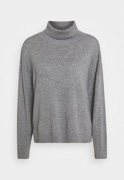DESIGNERS REMIX - YANIS NECK - Sweter - grey melange