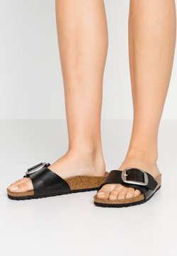 Birkenstock - MADRID BIG BUCKLE - Pantolette flach - graceful licorice
