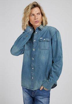 Guess - Camisa - blau