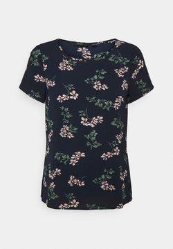 Vero Moda Petite - VMSAGA - T-Shirt print - navy blazer/nellie