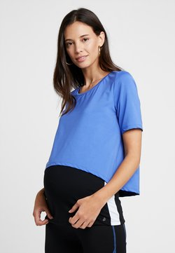 Esprit Maternity - T-shirt print - bright blue