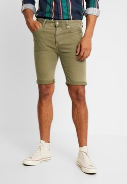 Replay - STRETCH BULL  - Jeansshort - olive