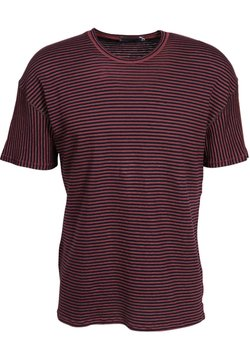 Greta & Luis - T-Shirt print - bordeaux / black