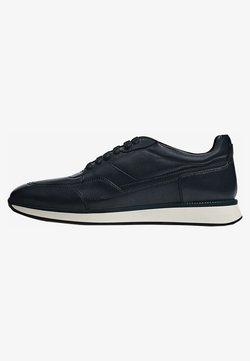 Massimo Dutti - GEBÜRSTETE - Sneaker low - blue