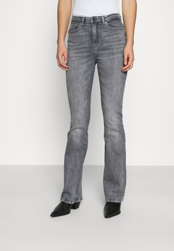 ONLY - ONLPAOLA LIFE FLARE - Flared Jeans - medium grey denim