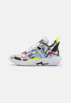 Jordan - WHY NOT ZER0.4 - Zapatillas de baloncesto - photon dust/black/volt/university red/lucky green/total orange