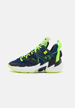 Jordan - WHY NOT ZER0.3 SE UNISEX - Zapatillas de baloncesto - black/key lime/blue void/summit white/white/barely volt