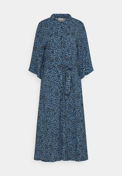Kaffe - KABARBARA DRESS - Maxikleid - quiet harbour/black