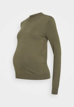 Anna Field MAMA - Pullover - olive night