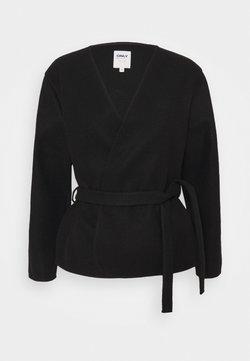 ONLY - ONLTRILLION SHORT BELT JACKET - Blazer - black