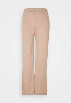 Pieces - PANT LOUNGE - Jogginghose - warm taupe melange