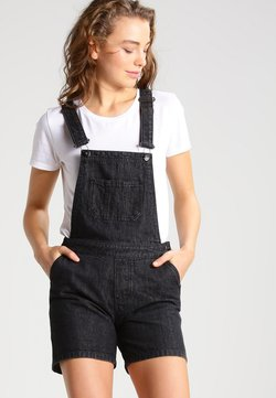 Urban Classics - Dungarees - black washed