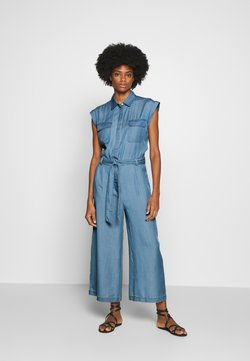 Marc O'Polo DENIM - PATCH ON POCKETS  - Combinaison - blue