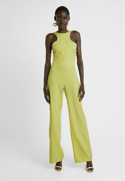 Missguided Tall - BUTTON SIDE DETAILED - Combinaison - washed lime