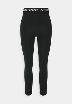 Nike Performance - 7/8 HI RISE - Tights - black/white