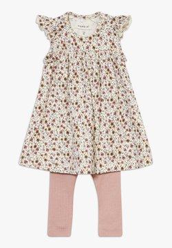 Name it - NBFHUTINA DRESS NBFHORINA SET - Leggings - nostalgia rose
