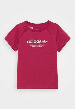 adidas Originals - TEE UNISEX - Camiseta estampada - pink