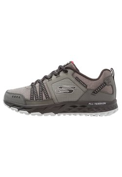 Skechers - ESCAPE PLAN - Sneaker low - charcoal/black
