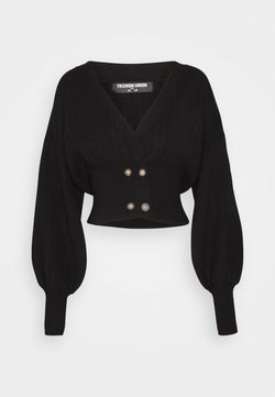 Fashion Union Tall - MEEKER - Vest - black