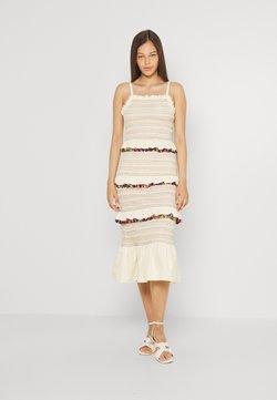 Never Fully Dressed - POM POM RAINBOW DRESS - Freizeitkleid - multi coloured