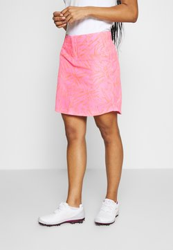 Under Armour - LINKS PRINTED SKORT - Sportrock - lipstick/mod gray/beta