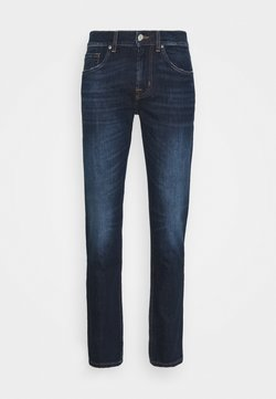 7 for all mankind - SLIMMY TAPERED CRASH  - Jeans Tapered Fit - dark blue