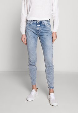 CLOSED - BAKER HIGH WAIST CROPPED LENGTH - Jeans slim fit - mid blue