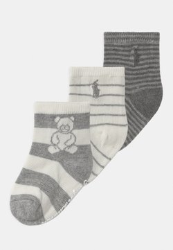 Polo Ralph Lauren - RUGBY BEAR 3 PACK UNISEX - Sokken - grey cream