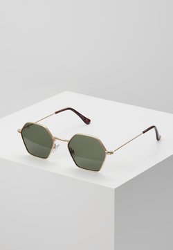 Jeepers Peepers - Gafas de sol - gold/green lens