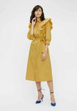 Object - Vestido camisero - bamboo