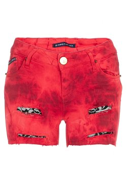 Cipo & Baxx - Jeansshort - red