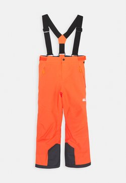 Jack Wolfskin - GREAT SNOW PANTS KIDS - Talvihousut - flashing red