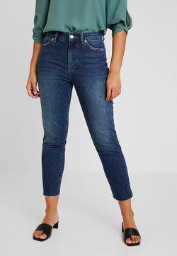 ONLY Petite - ONLEMILY - Straight leg jeans - dark blue denim