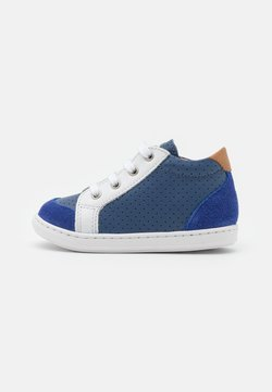 Shoo Pom - BOUBA ZIP BOX - Lauflernschuh - denim/white