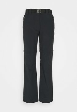 CMP - WOMAN ZIP OFF PANT - Stoffhose - antracite