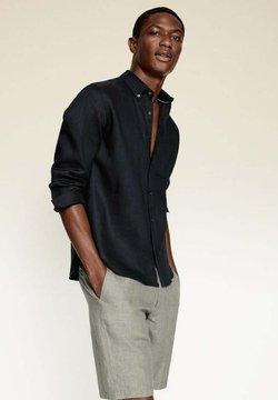 Mango - SLIM FIT - Koszula - schwarz
