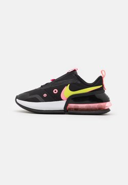 Nike Sportswear - AIR MAX UP - Sneaker low - black/cyber/sunset pulse/white