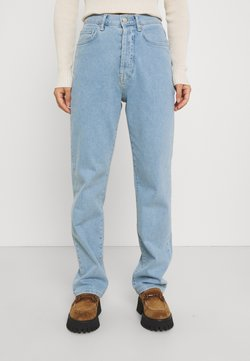 NA-KD Petite - HIGH WAIST - Jeans relaxed fit - light blue