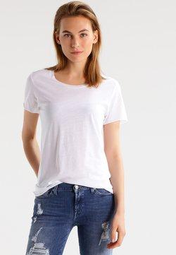 Zoe Karssen - ROUND NECK LOOSE FIT TEE - T-shirt basic - optical white