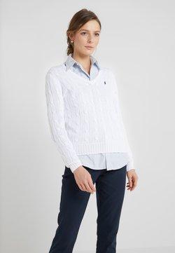 Polo Ralph Lauren - KIMBERLY - Strikpullover /Striktrøjer - white