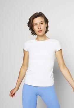 Nike Performance - LUXE INFINALON - T-shirt basic - sail/white