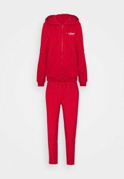 Love Moschino - SET - Sweatjacke - red