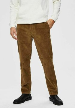 Selected Homme - Stoffhose - camel