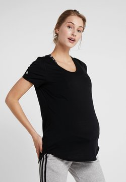 Cotton On Body - MATERNITY GYM TEE - T-shirt basic - black